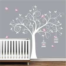 Bedroom Wall Decals Trees Amazon Com Wall Decals Wall Stickers Tree Decal With Birds