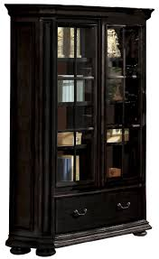 antique oak bookcase with glass doors allegro rs sliding door bookcase by riverside furniture
