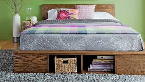 Diy Platform Bed Frame Designs by How To Make A Diy Platform Bed