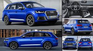 Audi Q7 Colors 2017 - audi sq7 tdi 2017 pictures information u0026 specs