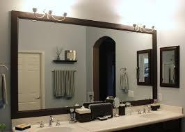 bathroom large framed bathroom mirrors framing a large bathroom