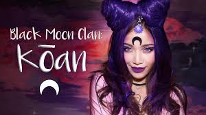 sailor moon koan black moon make up tutorial black moon sailor
