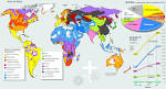 hinduism world map