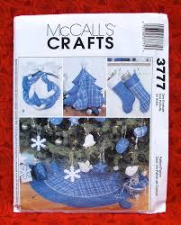 mccall u0027s sewing pattern 3777 christmas stockings soft ornaments