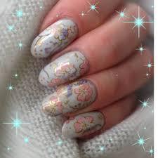 oriental floral nail art foil oriental floral nail art foil by