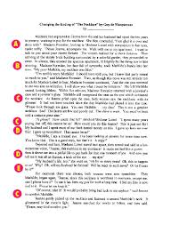 a Conventions  Grammar  and Usage of the English Language  The student independently and habitually demonstrates an understanding of the rules of the