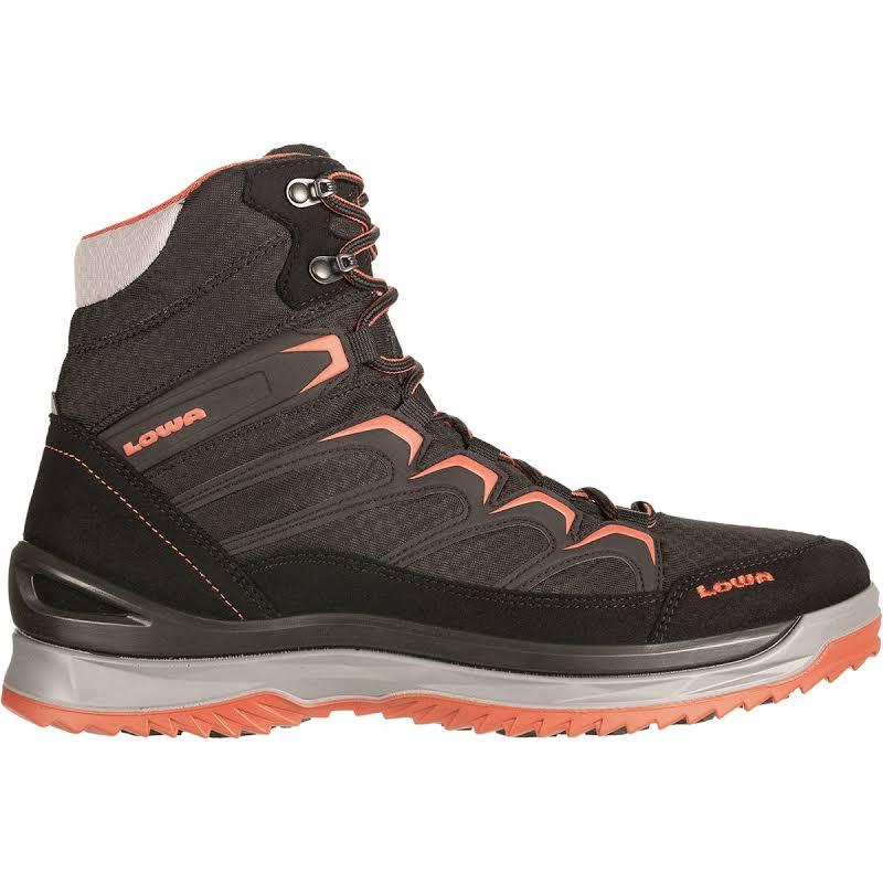 Lowa Innox Ice GTX Mid Winter Boot Black/Terracotta 12 Medium 4106019959-BLKTER-M120