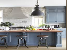 Best Kitchen Cabinet Paint Colors by 20 Best Kitchen Paint Colors Custom Blue Kitchen Cabinets Home