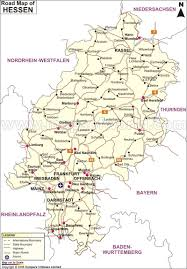 Detailed Map Of Germany by Hessen Road Map Road Map Of Hessen Germany