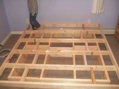 Build Your Own Platform Bed Base by Platform Bed Frame Plans Howtospecialist How To Build Step By