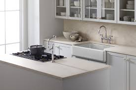 kohler k 6489 0 whitehaven self trimming apron front single basin