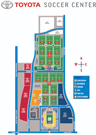 Printable Map Of Disney World Toyota Soccer Center Fc Dallas