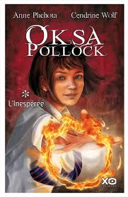 OKSA POLLOCK ( Tomes I, II, III, IV et V ) dans Roman Jeunesse