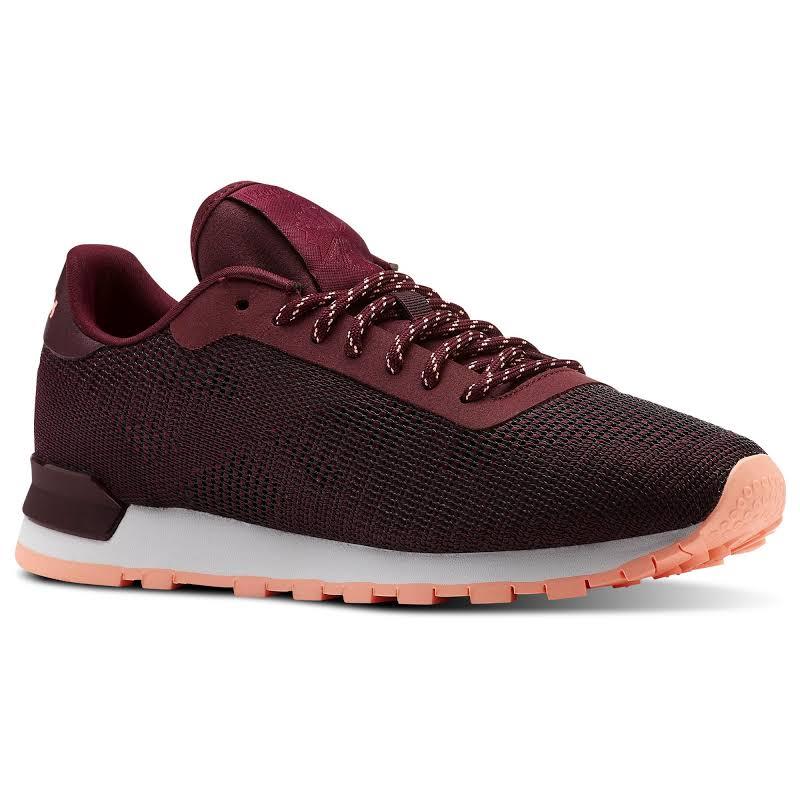 Reebok Flexweave Burgundy Walking Shoes