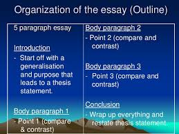 Example of an essay compare and contrast   How to write an outline     JFC CZ as