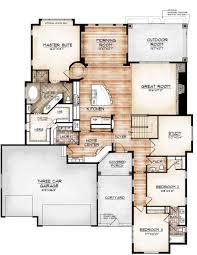 avon model by sopris homes main level plan floor plan wonders