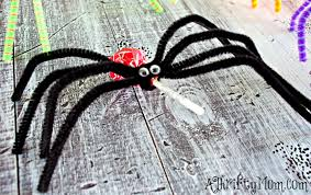 Halloween Crafts For Kids Easy Diy Projects For Kids Diy Lollipop Spiders Diy Lollipop Ghosts