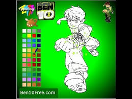 ben 10 ben ten omniverse gameplay ben 10 coloring games ben