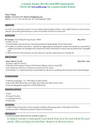 Student Objective For Resume  cover letter how to write your     Software Engineer Resume Sample   student objective for resume