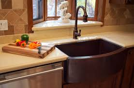 When And How To Add A Copper Farmhouse Sink To A Kitchen - Granite kitchen sinks pros and cons