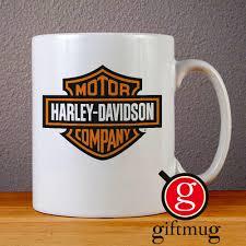 harley davidson logo ceramic coffee mugs from gift mug