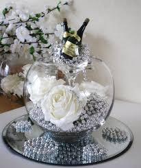 Silver Centerpieces For Table Celebration Centrepiece Centerpieces Paloma Blanca Pinterest