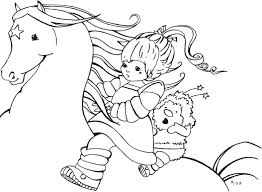 rainbow brite color page cartoon characters coloring pages color