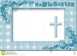 Invitation Cards Baptism Baby Boy Christening Invitation Stock Illustration Image 78082073