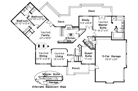 Ranch House Plan by Ranch House Plans Stonecrest 10 054 Associated Designs