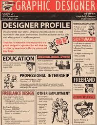 Graphic Designer Resume Sample by 81 Best Graphic Design Creative Resume Images On Pinterest