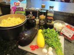Pasta Salad Ingredients Healthy Side Dish Balsamic Eggplant Pasta Salad U2013 Future Expat