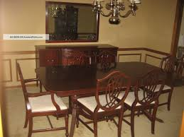 French Dining Room Set 1930 U0027 S Duncan Phyfe 11 Piece Mahogany Dining Room Set 1900 1950