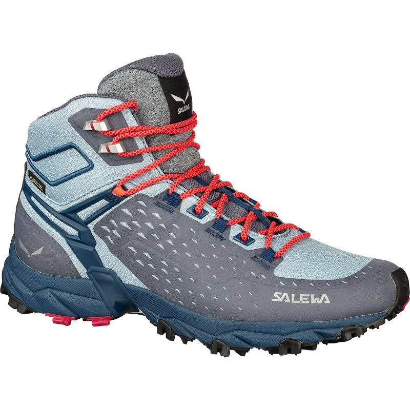Salewa Alpenrose Ultra Mid GTX Hiking Boot Grisaille/Poseidon 8.5 00-0000064417-0458-8.5