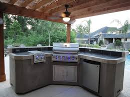modern outdoor kitchen cabinets l shape cabinet decoration ideas