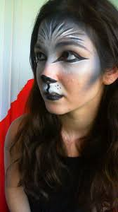 Indian Halloween Makeup Best 25 Wolf Makeup Ideas On Pinterest Haloween Makeup Lion