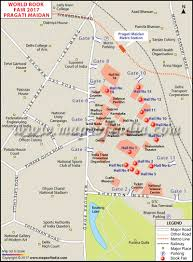 world book fair 2017 in new delhi map and information