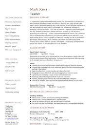 Student Cv Format For Internship   Resume Builder CV Plaza