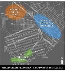mixed use development standards burbank ca
