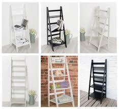 free standing book shelves ladder book shelf 4 tier bookcase stand