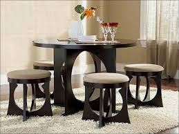 Round Dining Table Sets For 6 Kitchen Modern Round Dining Table For 6 Design Small Dinette