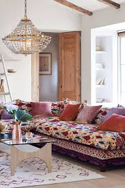 medina printed tassa sectional room inspiration dining room