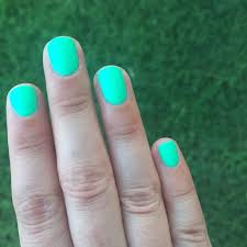neon nail polish age of aquarius by color club