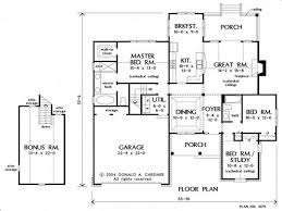 Chicago Bungalow Floor Plans Floor Plan Of A House With Attic