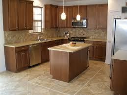 Kitchen Floor Ideas Pictures Delectable 10 Concrete Tile Kitchen Decorating Design Decoration