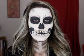 The 15 Best Sugar Skull Makeup Looks For Halloween Halloween by Easy Skeleton Makeup Tutorial Halloween 2015 Youtube