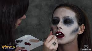 Halloween Makeup Application by Zombie Makeup How To Flapper Zombie Part 4 Halloween Makeup