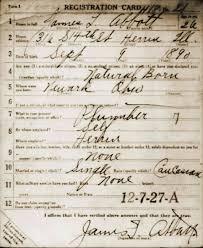Draft Registration Cards   World War I   Research Guides at     U  S  World War I Draft Registration Cards
