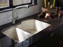 Kitchen Sink Styles And Trends HGTV - Marble kitchen sinks