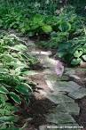 Natural Flafstone Step Stone Path