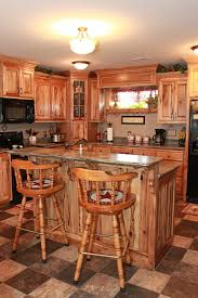 kitchen custom kitchen cabinet rustic hickory light0mesh pendant